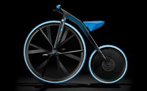 Velocipede électrique Concept 1865 BASF