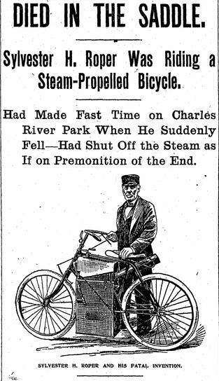Sylvester H. Roper et son invention fatale.
