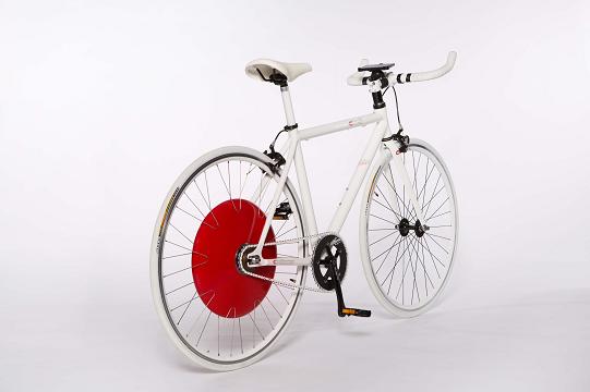 Copenhagen Wheel vélo électrique