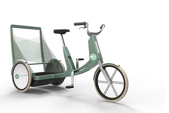 Tricycle électrique Lecomotion empilable