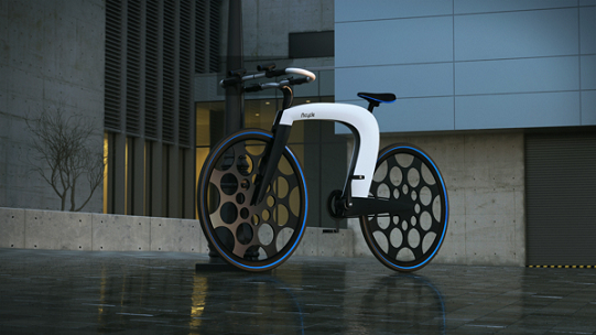 Concept de vélo électrique nCycle
